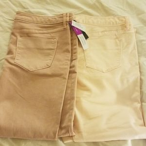 2 Mossimo Jeans NWT size 12